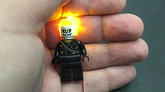 Ghost Rider Flicker (brickstuff) Tags: lego ghost rider led superhero