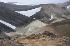 Landmanalaugar. Iceland (ibethmuttis) Tags: landmanalaugar highland iceland summer mountains colors 2016 snow