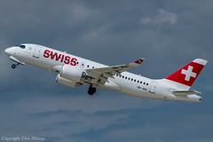 Swiss HB-JBA (A) 2 (U. Heinze) Tags: aircraft airlines airways haj hannoverlangenhagenairporthaj eddv planespotting nikon d610 nikon28300mm