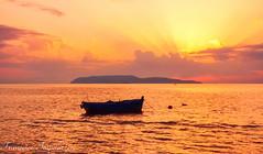 Boat (Francesco Impellizzeri) Tags: sunset trapani sicilia landscape