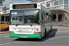 Newport Bus KU02YUE 326 (2) (welshpete2007) Tags: newport bus dart ku02yue 326