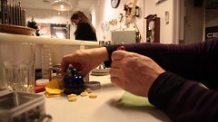 Watchmakersister (Beathe) Tags: anne sister watchmaker sortingherdesk urmaker
