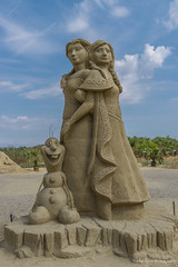 008 - Burgas - Sand Sculptures Festival 2016 - 24.08.16-LR (JrgS13) Tags: bulgarien filmhelden outdoor reisen sand sandscuplturefestivals sandskulpturenfestival urlaub burgas