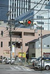 nagoya15886 (tanayan) Tags: signal intersection urban town cityscape aichi nagoya jaapan nikon j1    road street alley
