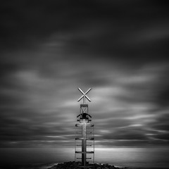 X (Kerstin Arnemann AMIPP ASICIP Fine Art Photographe) Tags: seascape sea clouds monochrome canon blackandwhite fineart filtershitech filters longexposure rocks