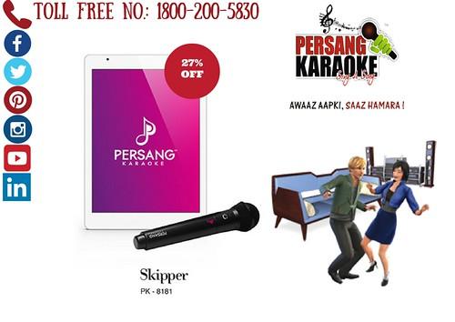 Karaoke Skipper Tablet