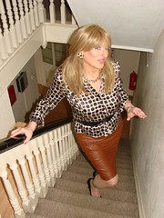 Where do silent hearts go? (Julie Bracken) Tags: satin kelayla transvista cd tgurl feminized xdresser mature old tv portrait hair red fashion transvestite mini skirt transgender m2f mtf transsisters enfemme ginger redhead party tranny trannie heels nylon julieb85 crossdressing crossdresser tgirl feminised 2016 kinky pantyhose crossdress polyamorous lgbt ladyboy transsexual transexual leather