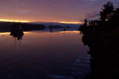 BEGINNING (k.stewart.photography) Tags: ocean sunrise westcoast boats harbor sea seascape gulfislands saltspringisland