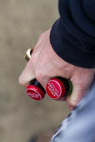Bottles in Hand