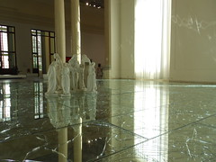 GNAM Roma (Raffo Champion) Tags: roma art gallery arte modernart brokenglass steps gnam passi specchi artecontemporanea alfredopirri lanadelrey