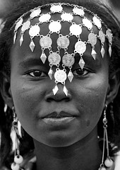 Woman With Jewels, Dire Dawa, Ethiopia (Eric Lafforgue) Tags: africa people blackandwhite vertical silver photography day african ceremony females jewelery ethiopia tribo frontview confidence traditionalculture hornofafrica eastafrica äthiopien etiopia ethiopie traditionalclothing realpeople etiopía lookingatcamera diredawa エチオピア traveldestination etiopija ethiopië 埃塞俄比亚 africanculture onegirlonly etiopien etiópia 埃塞俄比亞 etiyopya אתיופיה эфиопия 에티오피아 αιθιοπία mg4094 이디오피아 種族 етиопија 衣索匹亚 衣索匹亞