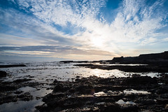 """Low tide at beach below Souter Lighthouse<br /><span style=""""font-size:0.8em;"""">This image is part of a photoshoot that is discussed in Ian Purves blog -  <a href=""""http://purves.net/?p=923"""" rel=""""nofollow"""">purves.net/?p=923</a><br />Title: Rock Arch at Lizard Point in Whitburn<br />Location: Whitburn, South Shields, Tyne and Wear, UK</span> • <a style=""""font-size:0.8em;"""" href=""""https://www.flickr.com/photos/21540187@N07/8375979799/"""" target=""""_blank"""">View on Flickr</a>"""
