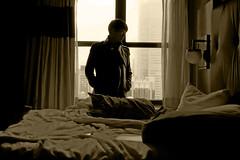 Self-portrait (Génial N) Tags: ny newyork hotel pentax nycity pentaxk01