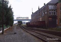 Trazegnies (Fer Huizer) Tags: belgie tram streetcar tramway strassenbahn henegouwen spoorlijn sncv nmvb