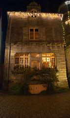Rochefort en Terre (StefanoPiemonte) Tags: bretagne breizh noël natale morbihan notturna 2012 bretagna rochefortenterre stefanopiemonte