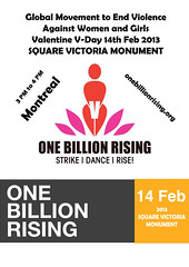 One Billion Rising Montreal (Taymaz Valley) Tags: world china uk cambridge girls usa toronto canada london japan vancouver digital tokyo women iran quebec montreal violence iranian taymazvalley onebillionrising menrise
