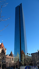 John Hancock Tower (THE ARCH1) Tags: tower glass boston skyscraper massachusetts copleysquare richardsonianromanesque henryhobsonrichardson aia150 henryncobb impeipartners