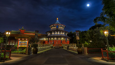 Temple of Heaven (Allen Castillo) Tags: orlando epcot nikon florida disney waltdisneyworld hdr worldshowcase chinapavilion photomatix cs6 nikcolorefexpro d7000 tokina1116f28