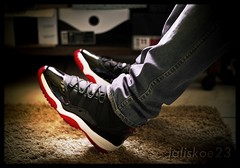 2001 BRED XI (jaliskoe13) Tags: red black air nike retro jordan eleven jumpman xi bred