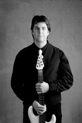 White on Black (Pennan_Brae) Tags: musician white black pennanbrae