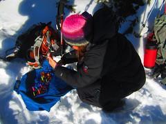 Candles by Zosia (*Andrea B) Tags: birthday winter snow canada mountains snowshoe kananaskis kent hiking january moose lookout hike ridge alberta lower kananaskiscountry 2013 kananaskislakes kananaskislake january2013 kentridgesouth redgaiters