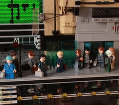 Blending with the Crowd (Andreas) Tags: city lego scene legocity thepurge legoscene
