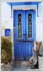 (Eleanna Kounoupa (Melissa)) Tags: blue doors traditional  kastella