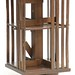 132. Mahogany Rotating Bookcase