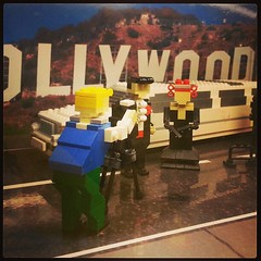 paparazzi (Greg Foster Photography) Tags: california celebrity square toys photographer lego famous limo hollywood squareformat legos paparazzi diva iphoneography instagramapp uploaded:by=instagram