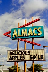 Almacs East Greenwich RI Rhode Island 1989 (Mod Betty / RetroRoadmap.com) Tags: ri rhodeisland eastgreenwich