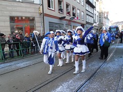 Karnevalsumzug 2013 in Erfurt (Tobi NDH) Tags: carnival girls people germany fun deutschland thringen erfurt thuringia streetphoto umzug garde karneval partygirls tanzmariechen karnevalsumzug ekv strassenkarneval peopleonpath nrrischesaltstadtfest 38erfurterfestumzug eckstedterkarnevalsvereinev