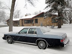 80 Dodge St.Regis (DVS1mn) Tags: blue cars hardtop car frost dodge mopar 80 1980 v8 nightwatch 318 nineteen stregis eighty wpc walterpchrysler 4door pillared nineteeneighty chryslercorporation