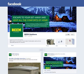 BEEM Outdoors Facebook Page