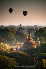 Morning Bagan (joeziz EK pholrojpanya) Tags: from thailand view you photos or everyone imagex seax photox cityx naturex artistx photographyx nightx nikonx travelx landscapex gettyx twilightx imagesx cityscapex skylinex fototrovex picksx