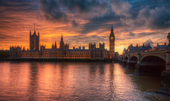 Sky On Fire (almonkey) Tags: sunset sky london westminster all housesofparliament before it handheld seen hdr highdynamicrange westminsterbridge d800 palaceofwestminster lodnon 5xp nikond800