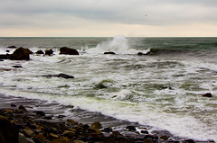 Winter waves at White Point Beach Resort (Scott-Simpson) Tags: winter beach novascotia getaway couples resort whitepoint babymoon