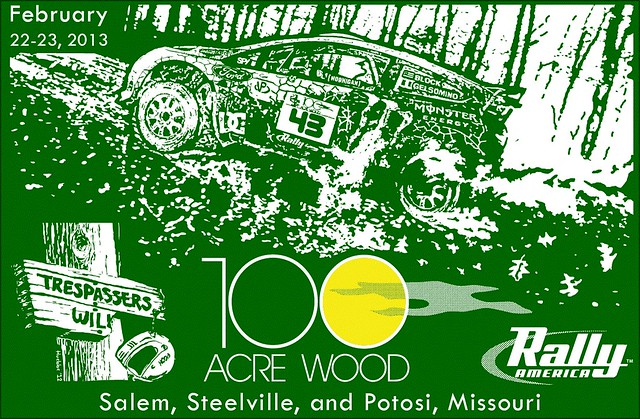 Thumbnail for Rally America: 100 Acre Wood Rally 2013 - Preview