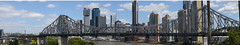 Brisbane Panorama (manchesterunitedbowie) Tags: bridge blue panorama clouds photoshop photography bowie cool awesome brisbane story sin cbd