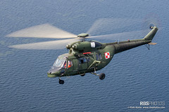 PZL W-3 Sokol over Gulf of Gdask (Baltic Sea) (Piotr Rams) Tags: army piotr aviation military polish baltic helicopter rams w3 helikopter sokol batyk pzl sok rbsphotoscom