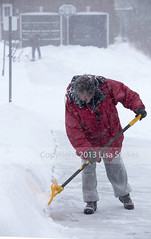 Shoveling (Lisa-S) Tags: winter portrait snow ontario canada michael lisas snowing brampton shoveling invited 2562 flickropen copyright2013lisastokes getty2013 winterstormnemo getty20130226