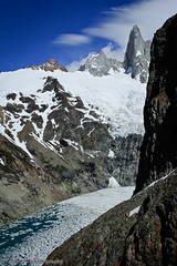 Spring at Cerro Torre (SPMckeever) Tags: travel patagonia lake mountains nature argentina landscape 2012 cerrotorre