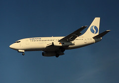 SABENA Boeing 737-200 (Deanster1983 who's mostly off for a while) Tags: photo airport heathrow aircraft aviation jet civil finals airline boeing approach lhr 737 sabena egll belgianworldairlines socitanonymebelgedexploitationdelanavigationarienne oosdg