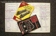 M002-00276 (railphotolibrary.com) Tags: ian allen notes railway abc collectors trainspotting spotting observers notebooks trainspotter griser