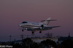 N80JE Raytheon Hawker 800XP (KSBD Photo) Tags: airport bur burbank raytheon hawker bobhope 800xp kbur n80je