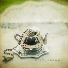 365/064 - the mad hatter was right (Lois_WA) Tags: nikon watch teatime aliceinwonderland teaball downtherabbithole 365project d7000 dps365assignment flypapertextures ourdailychallenge