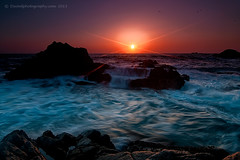 Gorgeous Garrapata (Dwood Photography) Tags: ocean california ca blue sunset orange seascape green beach waterfall waves state pacific teal wave pacificocean garrapata ltd garrapatastatebeach dwoodphotography dwoodphotographycom