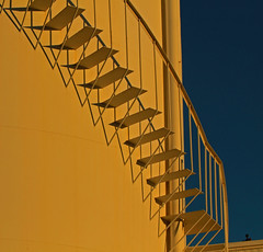 industrial plant in morning light 2 (vil.sandi) Tags: morning light valencia lines sunshine stairs lightandshadows spain industrialplant alfafar