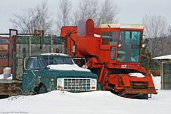 Out to pasture (ontario photo connection) Tags: york ontario canada rural airport farming transport equipment mongolia government lands region federal gmc altona markham pickering brougham