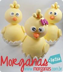 Pintinhos (Andréia Morganas) Tags: party cake galinha biscuit festa aniversário pintinho fazenda galinhas fazendinha galinhadangola ovelha pintinhos toper portadoces
