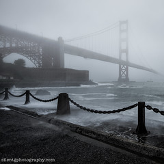 The Rain (Silent G Photography) Tags: sanfrancisco california ca longexposure storm rain fog bay nikon wideangle le goldengate bayarea nikkor d800 reallyrightstuff rrs niksoftware nikond800 bh55lr markgvazdinskas tvc33 silentgphoto silentgphotograpgy